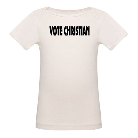 Vote Christian Organic Baby T-Shirt