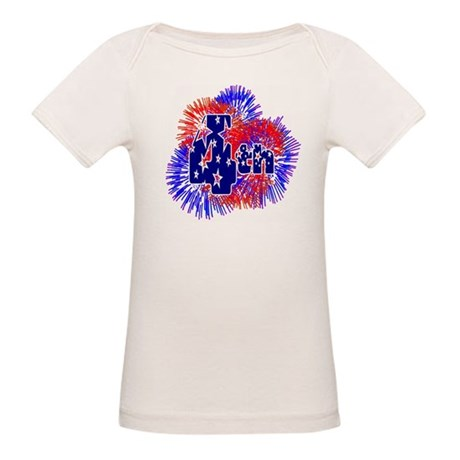 Fourth of July Organic Baby T-Shirt