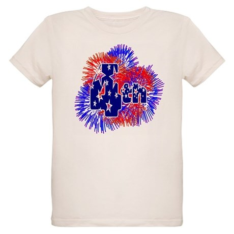 Fourth of July Organic Kids T-Shirt