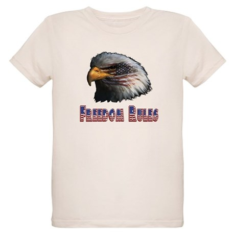 Freedom Rules Eagle Organic Kids T-Shirt