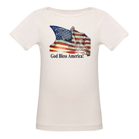 God Bless America! Organic Baby T-Shirt