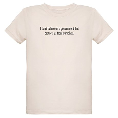 Government Protection? Organic Kids T-Shirt