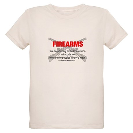 Anti Gun Control Organic Kids T-Shirt