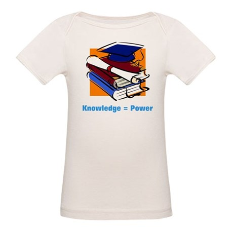Knowledge is Power Organic Baby T-Shirt