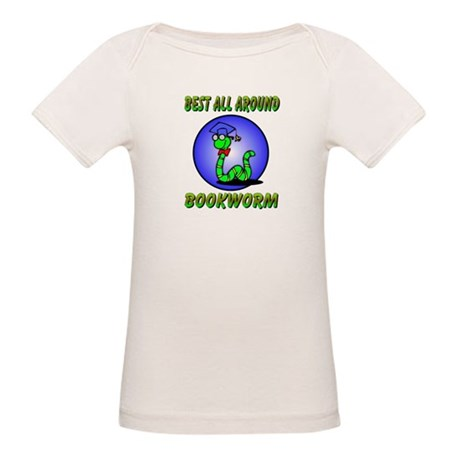 Best Bookworm Organic Baby T-Shirt