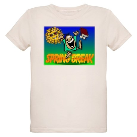 Spring Break Organic Kids T-Shirt