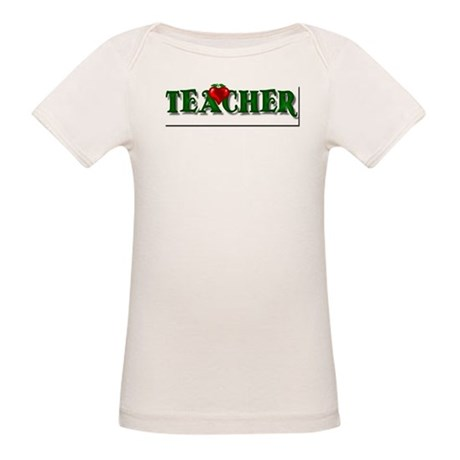 Teacher Apple Organic Baby T-Shirt
