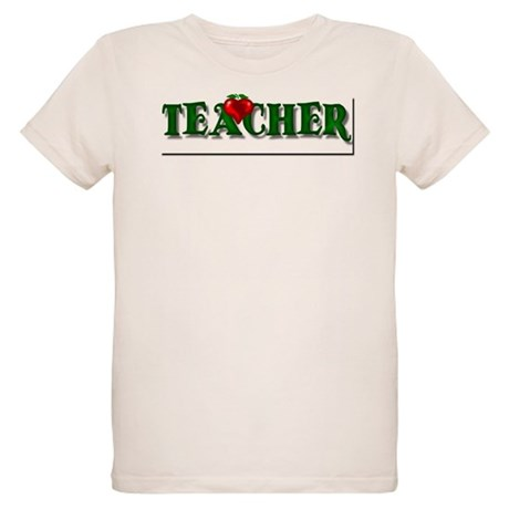 Teacher Apple Organic Kids T-Shirt