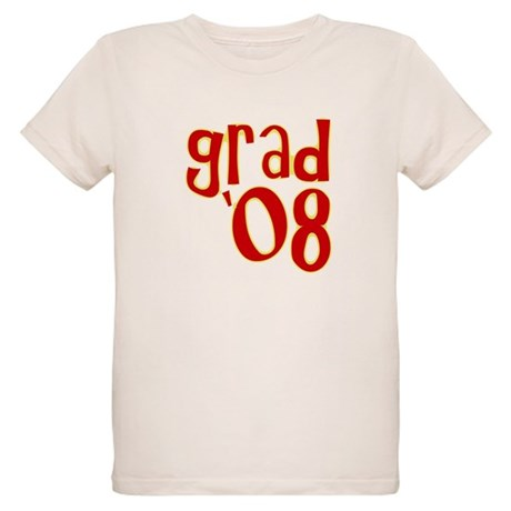 Grad 2008 - Red - Organic Kids T-Shirt