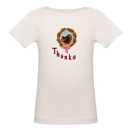 Thanks Turkey Organic Baby T-Shirt