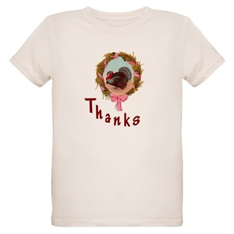 Thanks Turkey Organic Kids T-Shirt