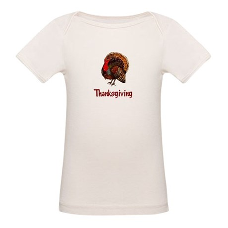 Thanksgiving Turkey Organic Baby T-Shirt