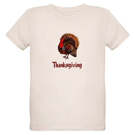 Thanksgiving Turkey Organic Kids T-Shirt