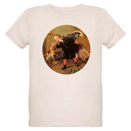 Vintage Thanksgiving Organic Kids T-Shirt