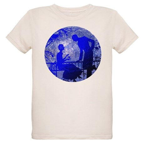 Blue Moon Lovers Organic Kids T-Shirt
