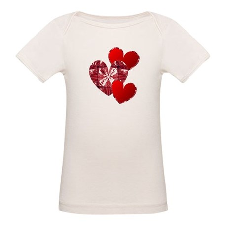 Country Hearts Organic Baby T-Shirt
