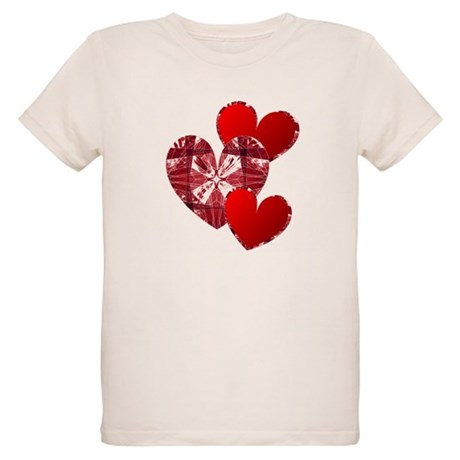 Country Hearts Organic Kids T-Shirt