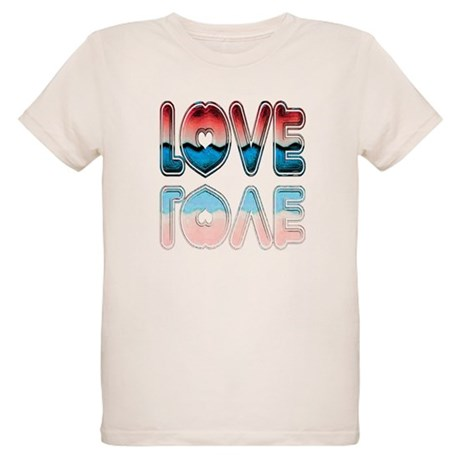 Valentine Love Organic Kids T-Shirt