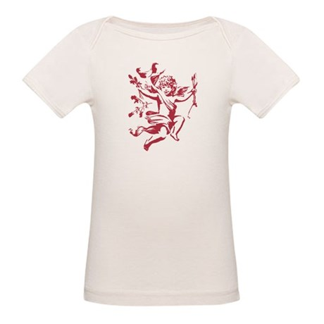 Vintage Cupid Organic Baby T-Shirt