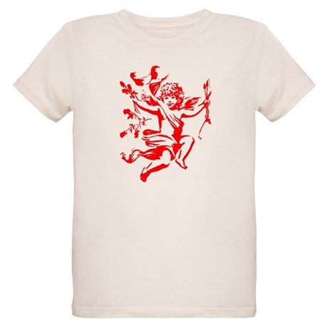 Vintage Cupid Organic Kids T-Shirt