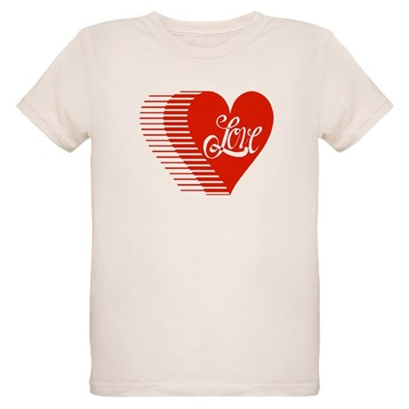Love Heart Organic Kids T-Shirt