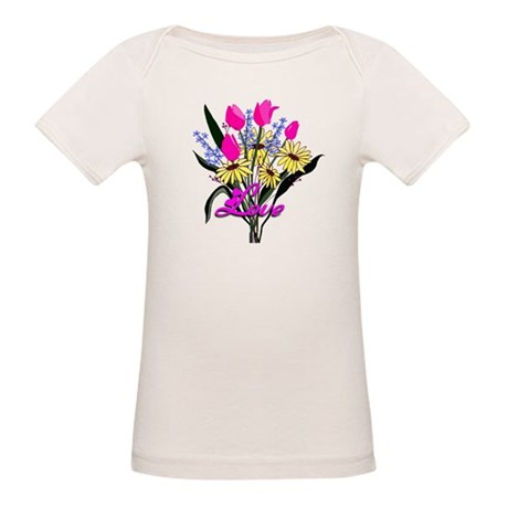 Love Bouquet Organic Baby T-Shirt