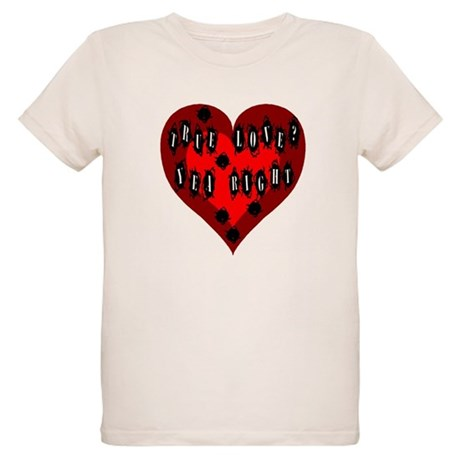 Holes in Heart Organic Kids T-Shirt