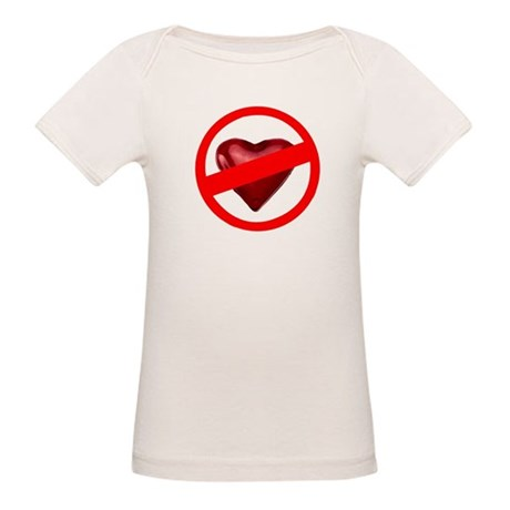 No Love Organic Baby T-Shirt