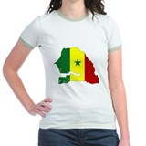 senegal Flag Map T