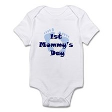 1st Mommy's Day - Blue Feet - Infant Bodysuit