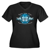 Scleroderma Tribal Butterfly Women's Plus Size V-N