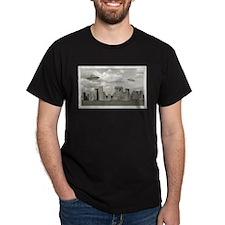 Stone Henge UFO T-Shirt