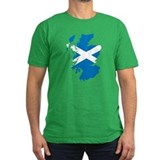 Scotland Flag Map T