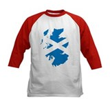 Scotland Flag Map Tee