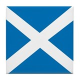 scottish Tile Coaster