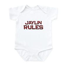 jaylin rules Infant Bodysuit
