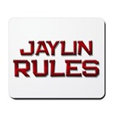 jaylin rules Mousepad