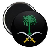 Coat of Arms of Saudi Arabia Magnet