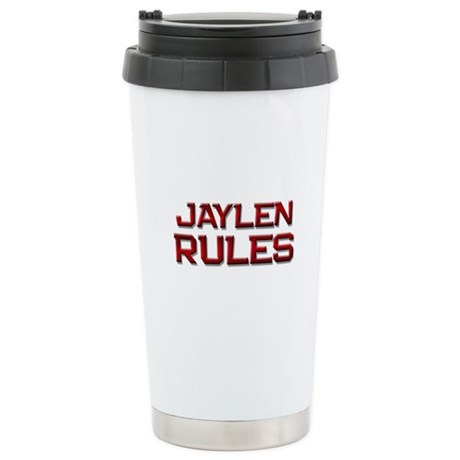 jaylen rules Ceramic Travel Mug