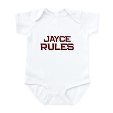 jayce rules Infant Bodysuit