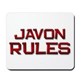 javon rules Mousepad