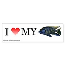 I Love My Venustus Bumper Bumper Sticker