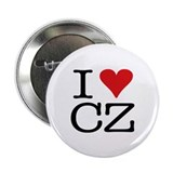 "I Love Czech 2.25"" Button (10 pack)"