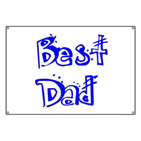 Father's Day Best Dad Banner