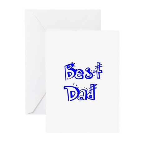 Father's Day Best Dad Greeting Cards (Pk of 20)