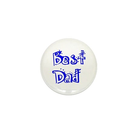Father's Day Best Dad Mini Button