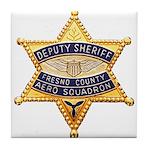 Fresno Sheriff Aero Tile Coaster