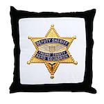 Fresno Sheriff Aero Throw Pillow