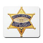Fresno Sheriff Aero Mousepad