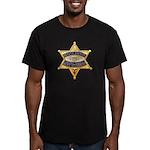 Fresno Sheriff Aero Men's Fitted T-Shirt (dark)